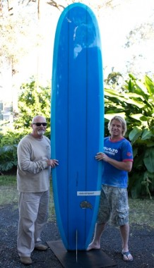 Davenport 10 FT mal Glass on fin