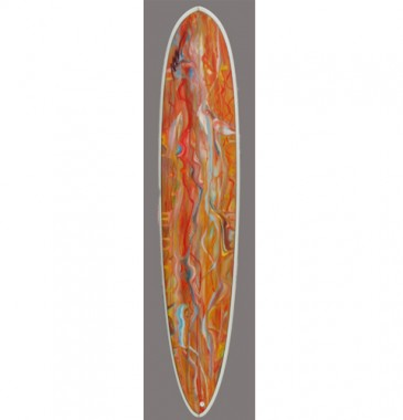 High Performance Malibu Orange mix Marble 9.1FT