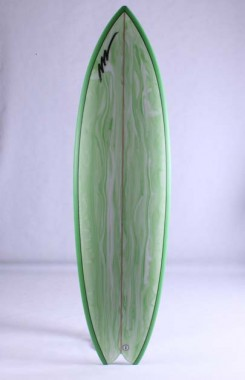 King Fish Green marble done by pigment