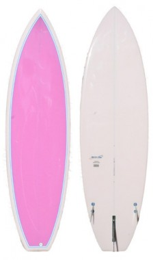 Seventy pink board pigmented