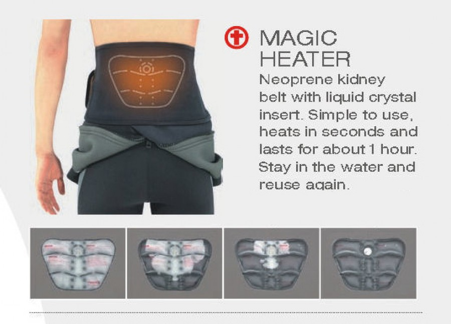 Magic Heater Kedney Belt - Koshino Umitarou