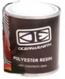 Code Polyester Resin 250ML Ocean and earth