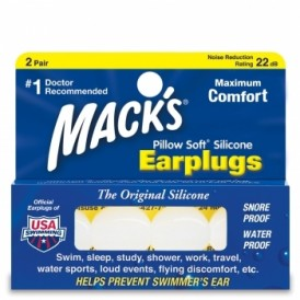 Code Mack's Earplugs Pillow soft