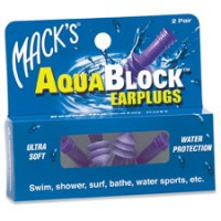 Code Mack's Aqua Block Ear Plugs